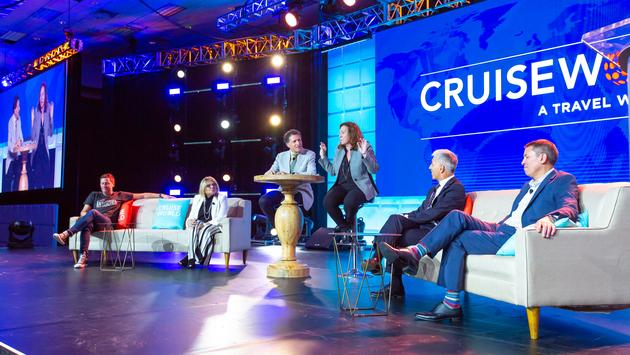 Speakers at CruiseWorld