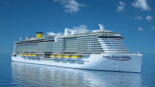 Costa, Cruises, Smeralda