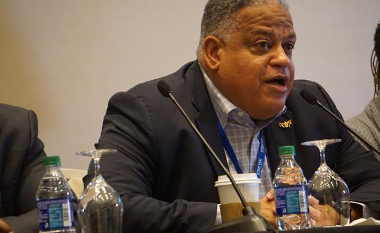 Joseph Boschulte, the U.S. Virgin Islands' Department of Tourism commissioner