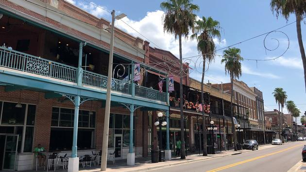 Ybor district in Tampa