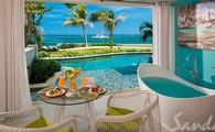 65% Off Rack Rates + 1 Free Night: Oceanfront Swim-up Butler Suite w/ Patio