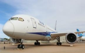 Boeing 787 Dreamliner at Pima Museum in Tuscon, Arizona