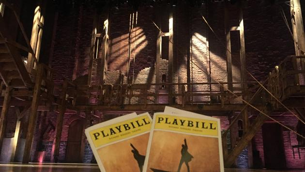 Hamilton Playbill, Broadway