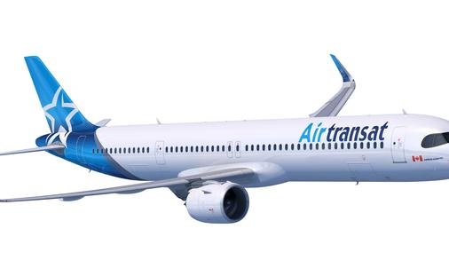 Un avion de Transat
