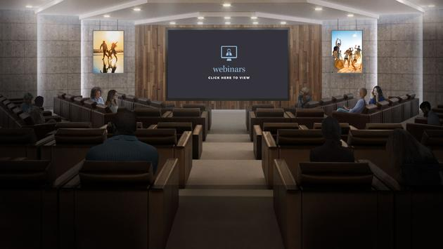 2021 Family Travel Expo auditorium
