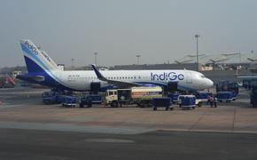 IndiGo plane in Delhi