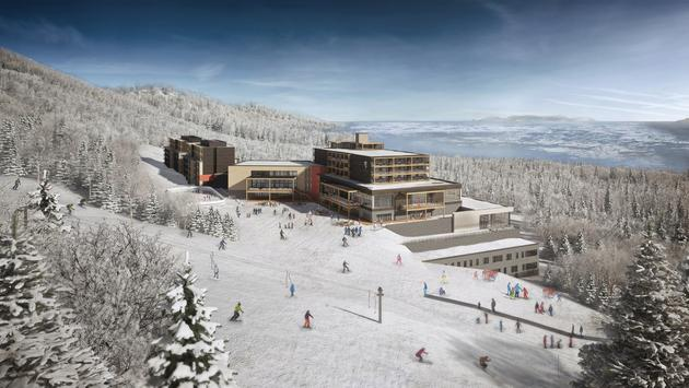 Rendering of Club Med Quebec Charlevoix