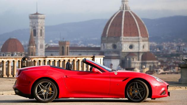 Test drive a Ferrari in Tuscany.