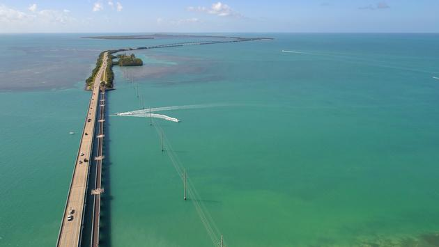 Seven Mile Bridge in the Florida Keys