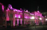 Buenos Aires' famed pink palace