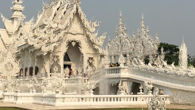Thailand White Palace.