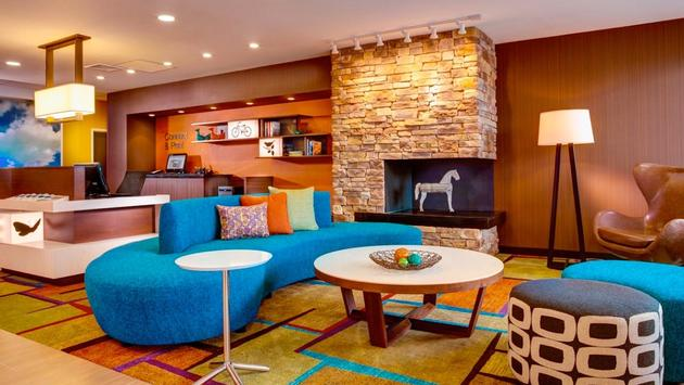 Fairfield Inn & Suites by Marriott - Fort Lauderdale property lobby