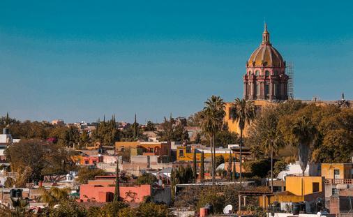 Las Monjas Church San Miguel de Allende