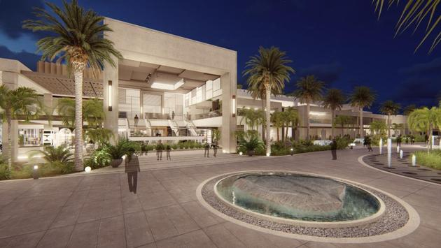 Serenade Punta Cana Beach & Spa resort exterior rendering