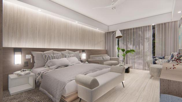Serenade Punta Cana Beach & Spa Resort luxury king room rendering