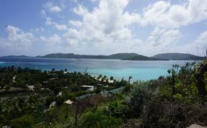 British Virgin Islands Landscape from Necker Island