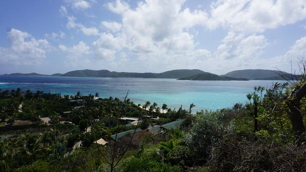 British Virgin Islands Landscape from Necker Island