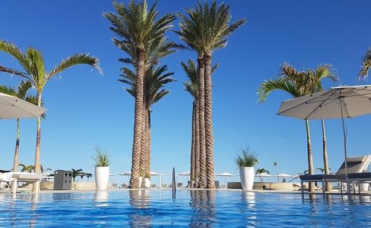 The view from the pool at Le Blanc Spa Resort Los Cabos.