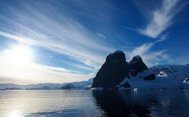 Sea and ice in Antarctica