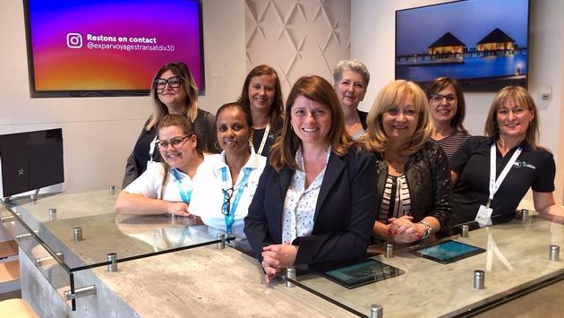 Air Transat inaugure sa nouvelle agence ex à Brossard
