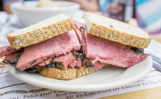 Katz's Pastrami - Smoked to juicy perfection and hand carved to your specifications
