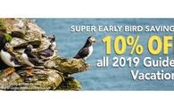 2019 Super Early Bird Offer