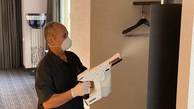 Marriott international's new cleaning protocols.