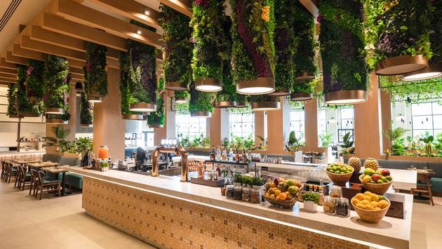 The Market Food Hall bar