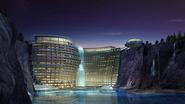 Rendering of InterContinental Shanghai Wonderland