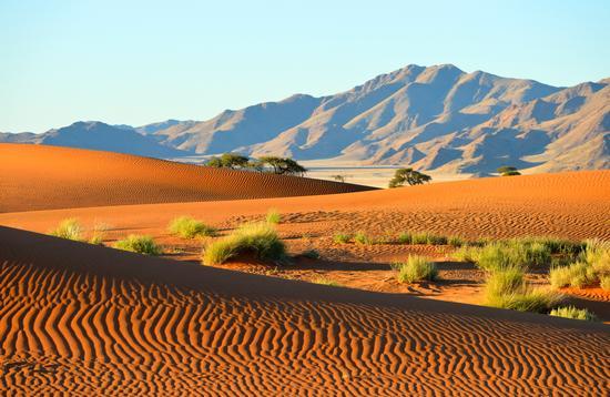 Namibian desert.