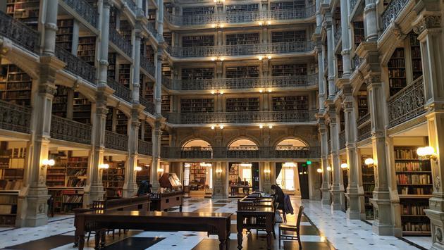 Peabody Library, Baltimore, Mount Vernon