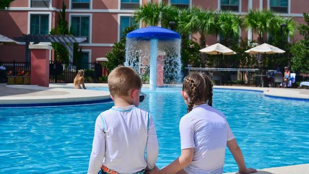 kids, pool, hotel, Hampton Inn & Suites Destin