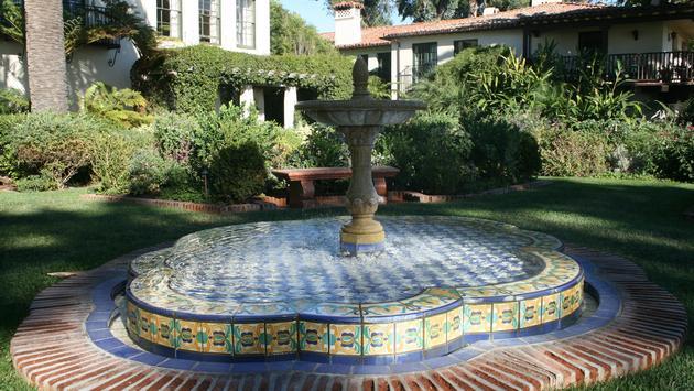 Fountain at the Four Seasons Resort The Biltmore Santa Barbara