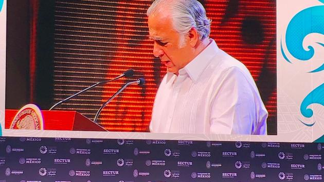 Mexico's Secretary of Tourism Miguel Torruco Marqués