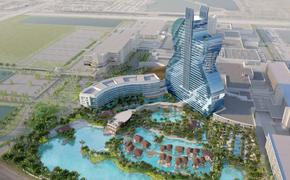Rendering of the upcoming Guitar Tower at Seminole Hard Rock Hotel & Casino in Hollywood, Florida