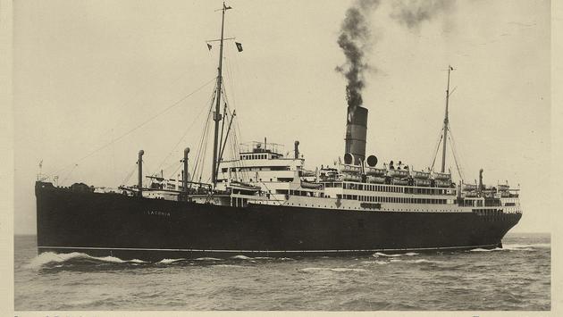 Postcard of Cunard Line's Laconia