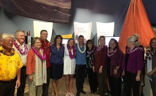 NCL President and CEO Andy Stuart at Hilo event
