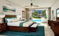 Millionaire Crystal Lagoon Swim-up Butler One Bedroom Suite w/ Patio Tranquility Soaking Tub