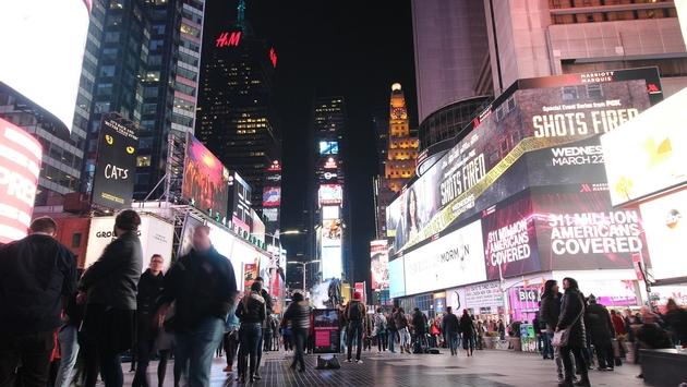 Times Square in New York City