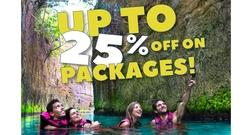 Save up to 25% OFF with 2 or more experiences!
