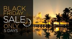 Black Friday Sale: Rates as low as $102PP/PN