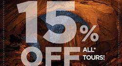 15% Off All Tours – Black Friday Savings!