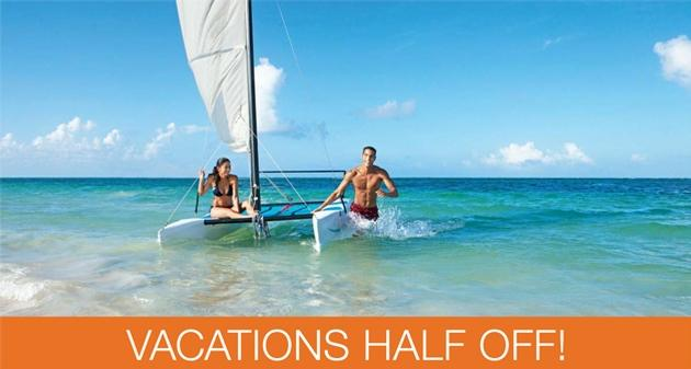 Save Up To $3,012 Per Couple and Receive Up To $400 in Resort Coupons Per Room, Per Stay at AMResorts!