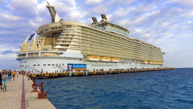 Royal Caribbean, Oasis of the Seas Cruise Ship.