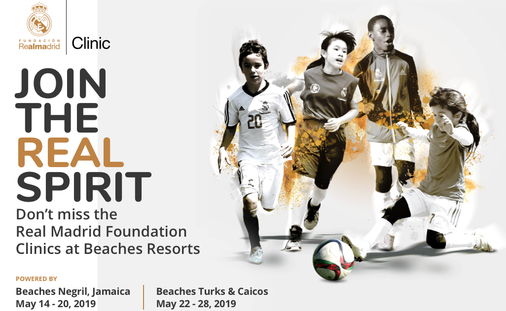 Don't miss the Real Madrid Foundation Clinics!