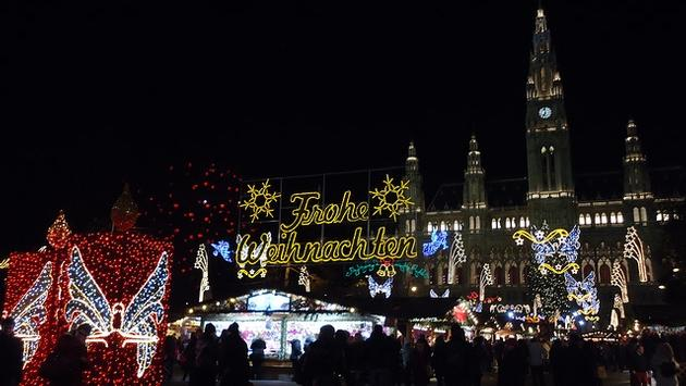 The Viennese Christmas Market is Vienna's oldest