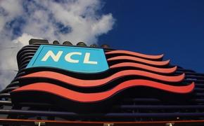 Norwegian Cruise Line logo on Pride of America's stack