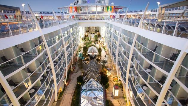 Central Park onboard Symphony of the Seas