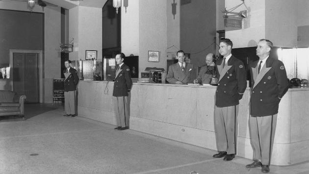 Le Hilton Dallas à son ouverture en 1925