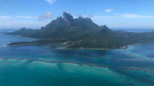 Bora Bora vue des airs